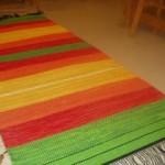 Färgrik matta