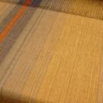 Cottolinlöpare i varma färger, bredd 40,5 cm