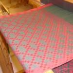 Daldräll i grönt och rött 44,5 cm